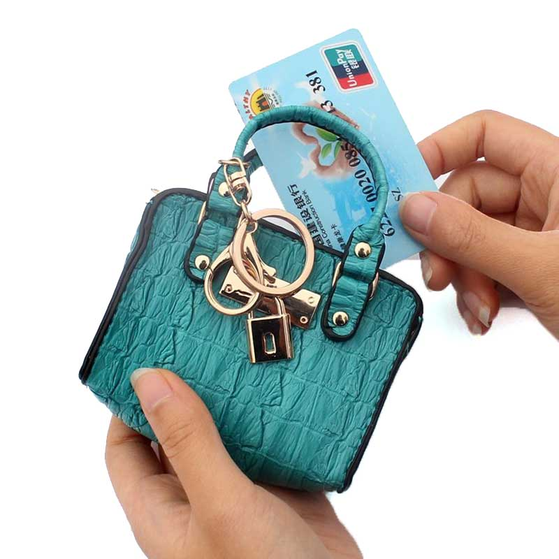 Coin purse fashion handbag model coin bag women coin wallet change purse Ladies Key card Holder female money mini handbags pouch