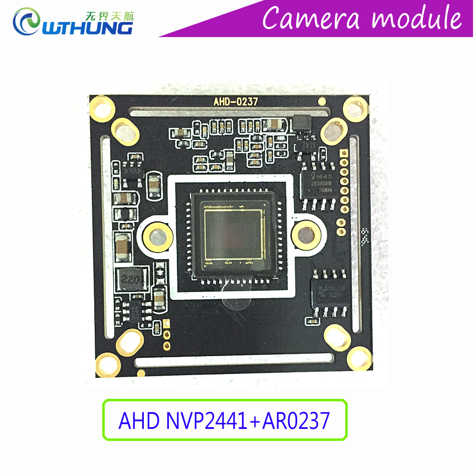 2.0M 1080P 1/2.7 AR0237 CMOS sensor+Nextchip2441H CCTV AHD/TVI/CVI/CVBS camera module board support IR cut night vision 4 in 1 ir high speed dome camera ahd tvi cvi cvbs 1080p output ir night vision 150m ptz dome camera with wiper