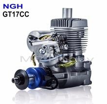 Motores a gasolina a gasolina de ngh gt17cc motores a gasolina de 2 tempos para rc avião multicopter zangão motor