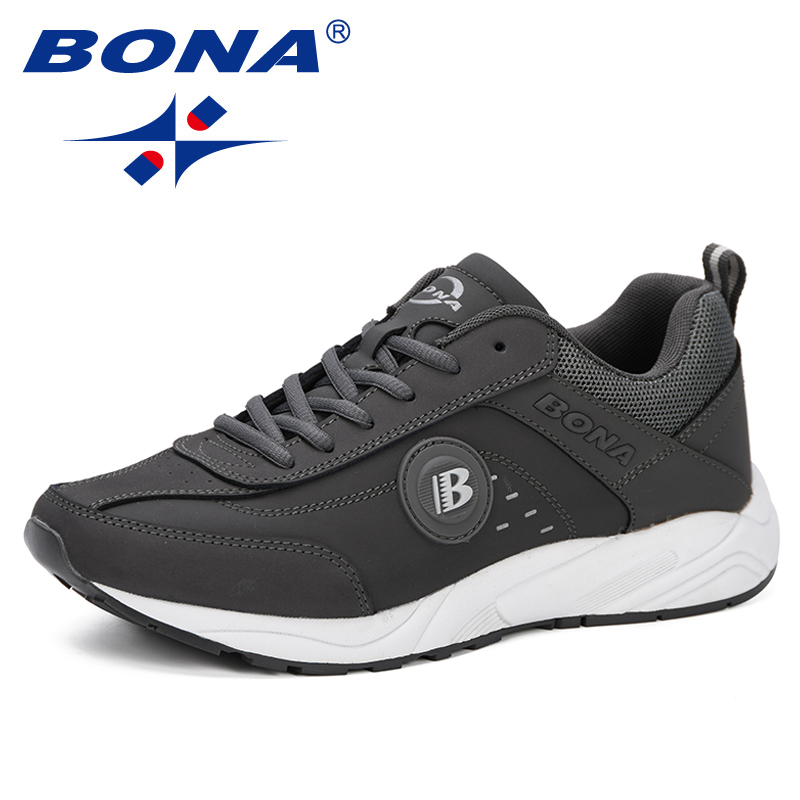 Image 5 - BONA 2019 Spring Casual Shoes Men Breathable Shoes Tenis  Masculino Shoes Zapatos Hombre Sapatos Outdoor Shoes Sneakers Men  ComfyMens Casual Shoes