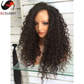 150% Density Human Hair Full Lace Wigs Curly Lace Front Human Hair Wig Glueless Brazilian Curly Virgin Hair Lace Front Wig