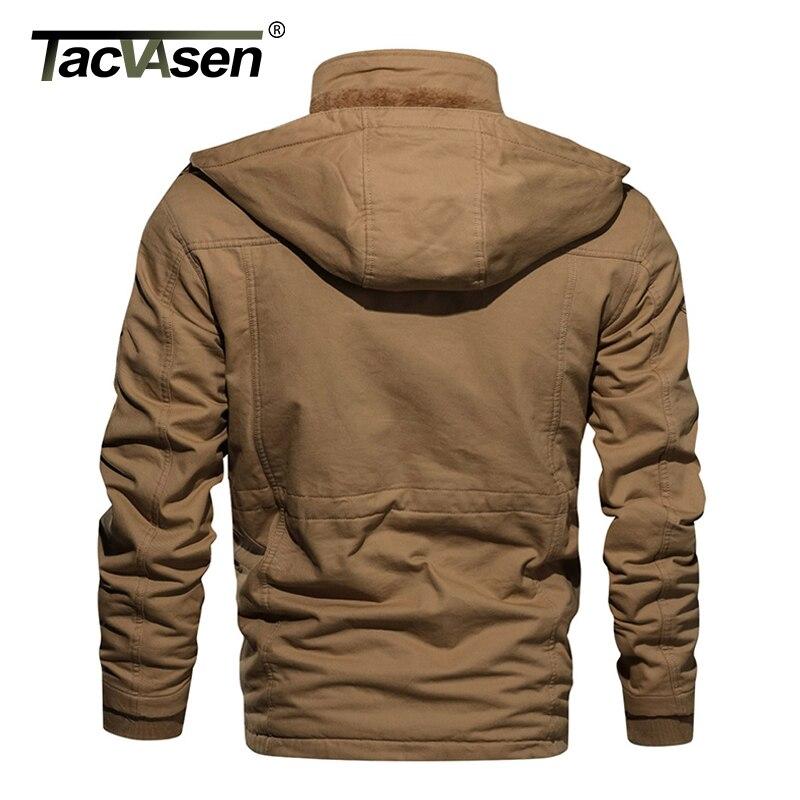 TACVASEN Men's Military Fleece Jacket 2