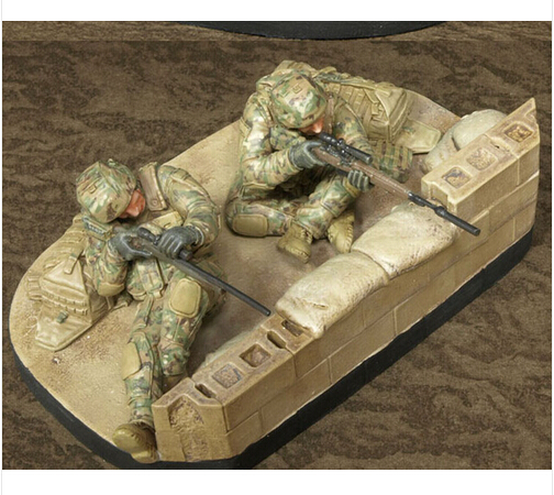1/35 Modern American Sniper 2 soldier with the base resin kit new coming  best quality-in Model Building Kits from Toys & Hobbies