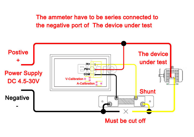 Terrific Dc Amp Meter Wiring Diagram Wiring Diagram Database Wiring 101 Taclepimsautoservicenl