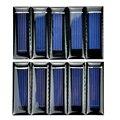 10 unids mini panel solar nueva 0.5 v 100ma células solares paneles fotovoltaicos módulo de energía solar cargador de batería diy 53*18*2.5mm