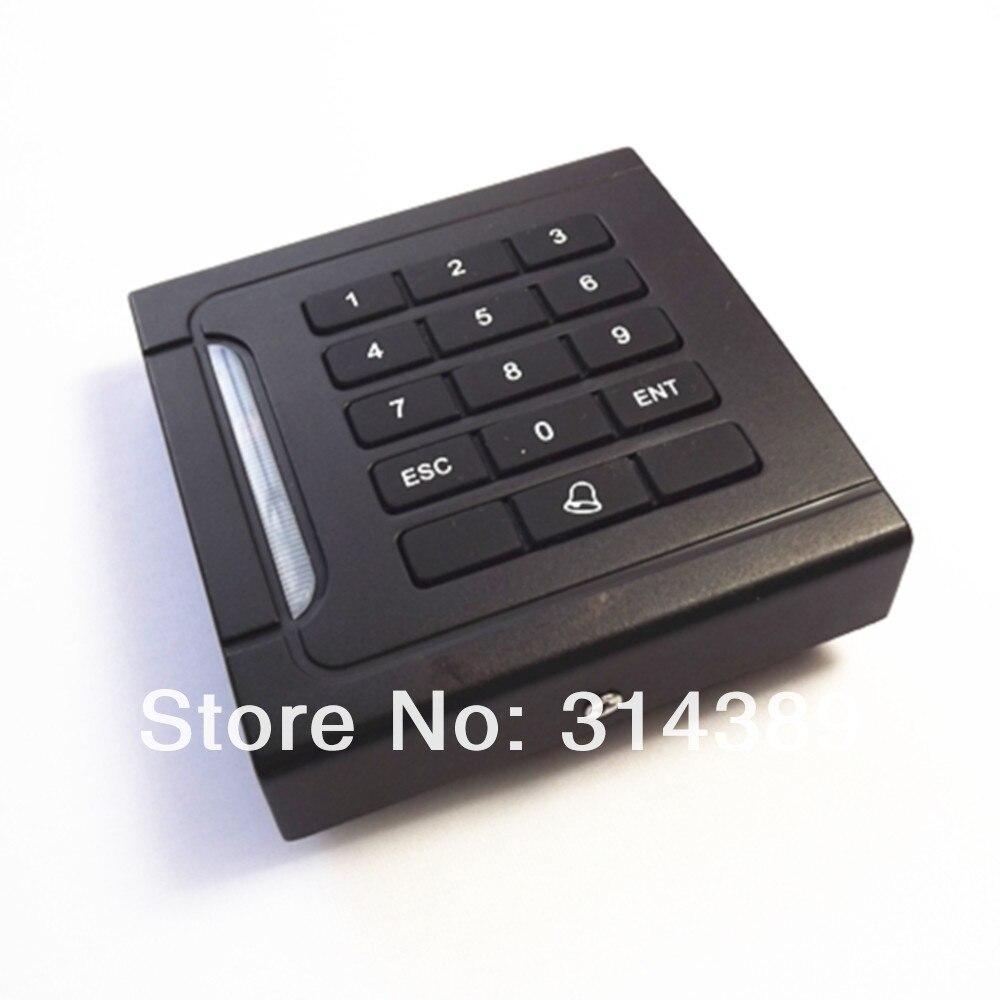 EM4100 125Khz Keypad Pincode 86*86mm KO Knock out box WG26 RFID ID card READER jinbei em 35x140 grids soft box