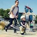 Tourist travel essential artifact Children alone the wheelbarrow Inflatable round young children trolley children's cart
