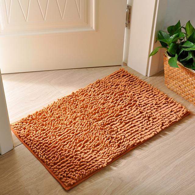 40x60cm 50x80cm Modern Kitchen Floor Mat Champagne Door Bedroom Carpet Rugs Anti Slip
