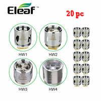20 piezas Original Eleaf Ello atomizador bobina cabeza HW1 0,2 Ohm/HW2 0,3 Ohm para Ello Mini VS HW3 0,2 Ohm/HW4 0,2 Ohm para Ikonn 220 Kit