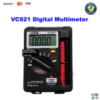 Free Shipping DMM Integrated Personal Handheld Pocket Mini Digital Multimeter VICTOR VC921
