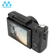 "MEMTEQ 3"" TFT LCD Full HD 24MP Digital Camera Video 1080P Camcorder CMOS Video Lens  + Filter Mini Digital Camera(China)"