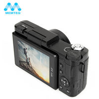MEMTEQ 3 TFT LCD Full HD 24MP Digital Camera Video 1080P Camcorder CMOS Video Lens + Filter Mini Digital Camera