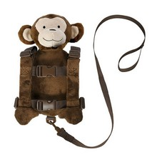 Kid's Funny Zoo Plush Rein Backpack