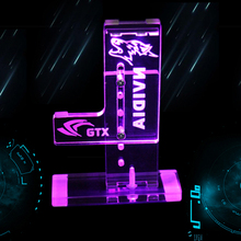 hot deal buy diy external led graphics card holder graphics cards stand mounting bracket suitable for gtx 1080 1070 1050ti companion support