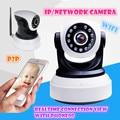 Беспроводная Ip-камера Wi-Fi 720 P HD поддержка sd карты Аудио Мега Alarm Onvif P2P БЕСПЛАТНОЕ ПРИЛОЖЕНИЕ Network IR-CUT Ночного Видения Записи PTZ