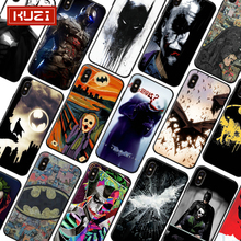 Batman Joker Harley Covers for Iphone 7 Plus Case Soft Silicone For iPhone X XS 8 6 6s Coque Fundas Capa