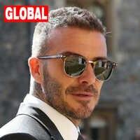 Lunettes De soleil polarisées hommes femmes RB3016 marque Design lunettes De soleil pour les yeux femmes Semi sans monture classique hommes lunettes De soleil Oculos De Sol UV400