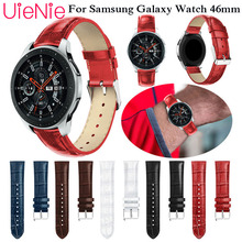 22mm Watch Strap for Samsung Gear S3 Frontier/Classic Galaxy Watch 46mm band Leather Watchband for Huami Amazfit stratos 2 2S 22mm genuine leather watch strap for samsung gear s3 classic frontier band for samsung r760 r770 huami amazfit pace stratos 2 1