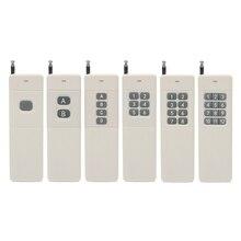 433 MHz 3000 mt Long Range Entfernung High Power 1CH 2 KANAL 4 kanal video multiplexer 6CH 8CH 12CH 1 2 4 6 8 12 CH RF Fernbedienung Telecomando Trasmettitore