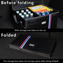 car trunk organizer storage box for Benz Ford toyota BMW  suv boot foldable travel camping Auto Trunk