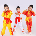 Atacado Chinês tradicional traje wushu uniforme de artes marciais kung fu terno para crianças encenar performence roupas plus size