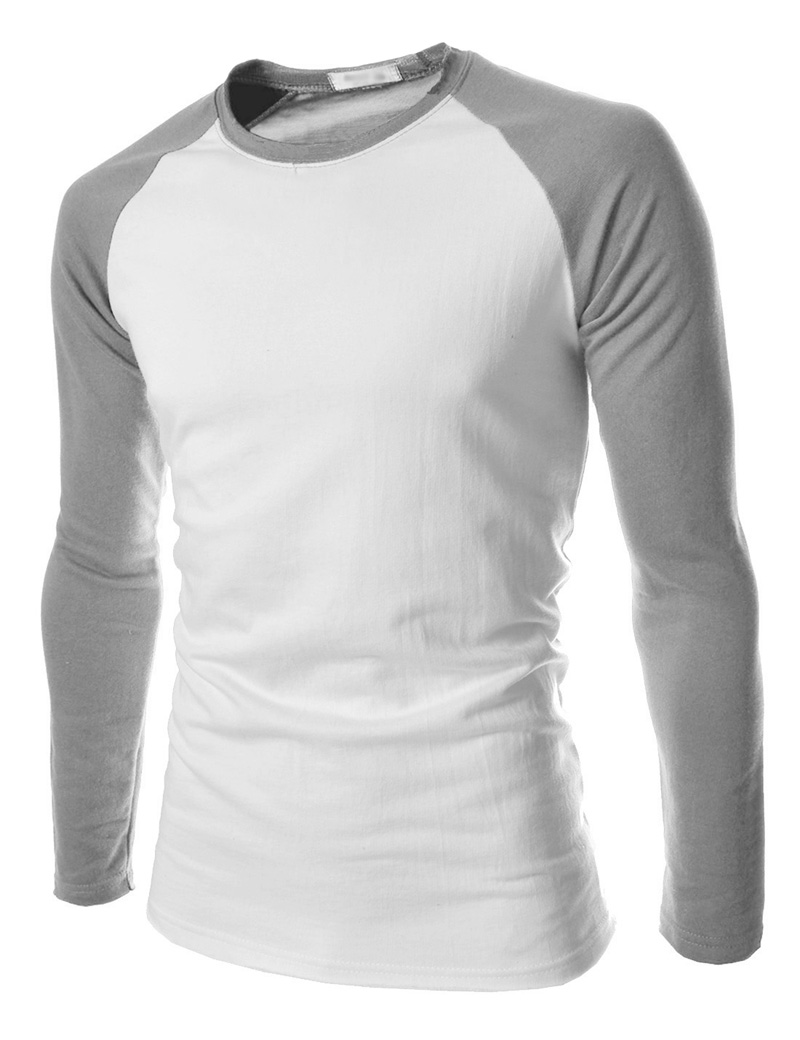 Two Color Long Sleeve T Shirts Bcd Tofu House