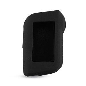 Image 3 - KEYYOU A93 المفاتيح غطاء سيليكون حافظة مفاتيح المحافظ ل Starline A93 اتجاهين إنذار سيارة تحكم عن بعد A63 LCD الارسال