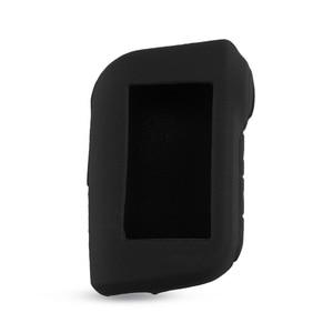 Image 3 - KEYYOU A93 anahtarlık silikon katlanır anahtar kılıfı mükemmel Starline A93 iki yönlü araç alarmı uzaktan kumanda A63 LCD verici