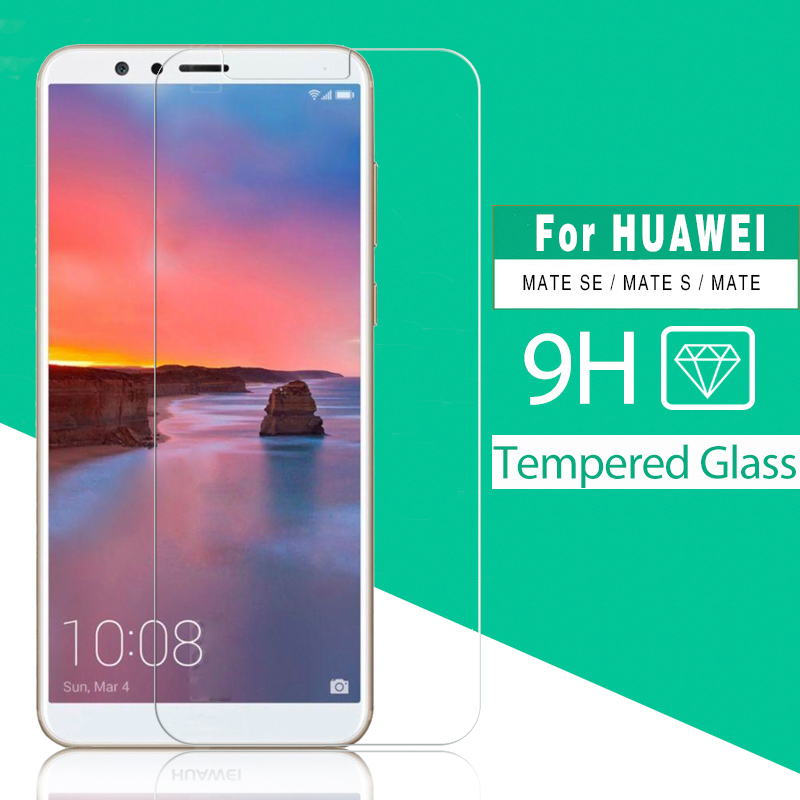 Premium Tempered Glass For Huawei Mate SE S Mate BND-L34 CRR-L09 CRR-UL00 MT1-U06 Screen Protector Glass Film Anti-Explosion