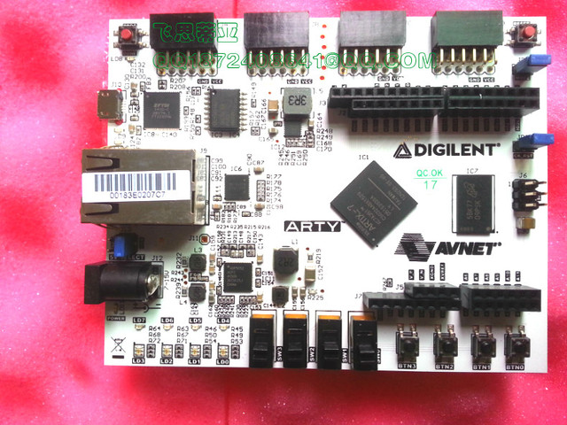 US $190 0 |Arty Artix 7 spot 410 319 FPGA development board Digilent Xilinx  Artix 35T-in Electronics Stocks from Electronic Components & Supplies on