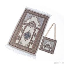 ผ้าฝ้ายมุสลิมพรมสำหรับห้องนั่งเล่นพรมนุ่มตุรกีพรมญี่ปุ่น Mat Tatami ผ้าห่มฤดูร้อนพร้อมกระเป๋า
