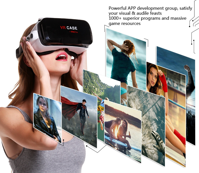 Virtual Reality Glasses VR Box Rirtual Reality Helmet Touch Function 3D Glasses VR Wearing Equipment 14