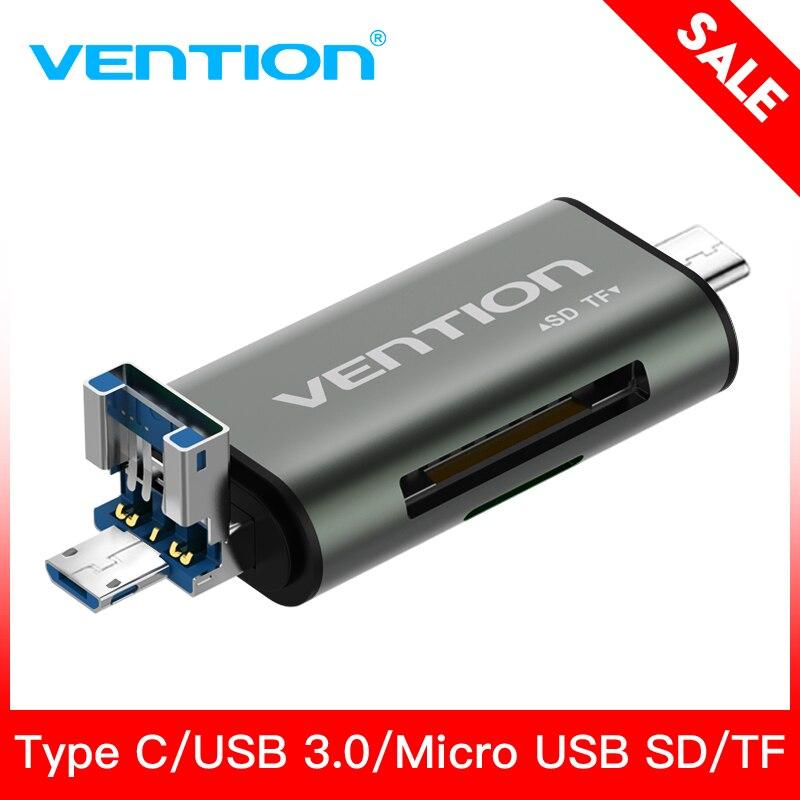 Intervento Micro SD Adattatore Lettore di Schede di Tipo C Micro USB SD Scheda di Memoria Adattatore per MacBook Del Computer Portatile USB 3.0 SD /TF lettore di Schede di OTG