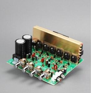 Image 2 - Placa amplificadora de Audio X2, 100W, 2,1 canales, alta potencia, 120w, subwoofer, amplificador de graves, placa RCA para altavoces y teatro