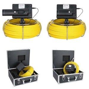 Image 5 - MAOTEWANG 4.3 אינץ 22mm כף יד תעשייתית צינור ביוב פיקוח וידאו מצלמה IP68 Waterproof 1000 TVL מצלמה עם 6W LED