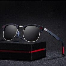 Sunglasses New Classic Mens Polarized Biking Glasses Fashion Retro-vintage Rice Nail Protective Eye