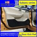 Porta do carro anti kick pad mat adesivo cobrir para subaru Subaru XV Subaru Forester Impreza Outback BRZ Porta Do Carro de Proteção Pad