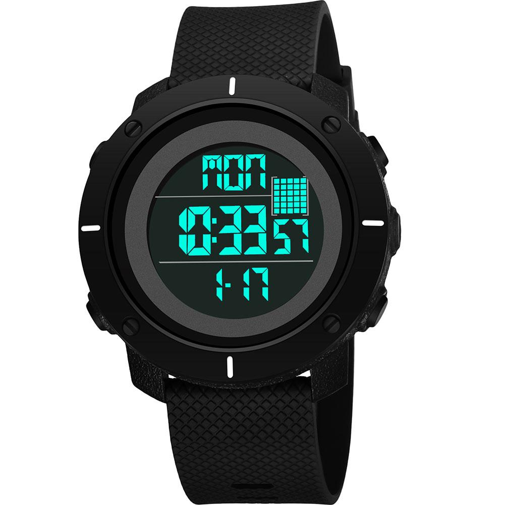 Sport Men relogio Digital 1224 Hours Alarm Chronograph Calendar Waterproof Military Electronic Wrist Watch Relojes