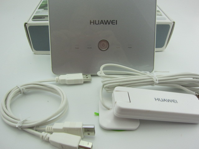Huawei B970b 3G wireless Router unlocked plus a exchange cable and 3g antenna