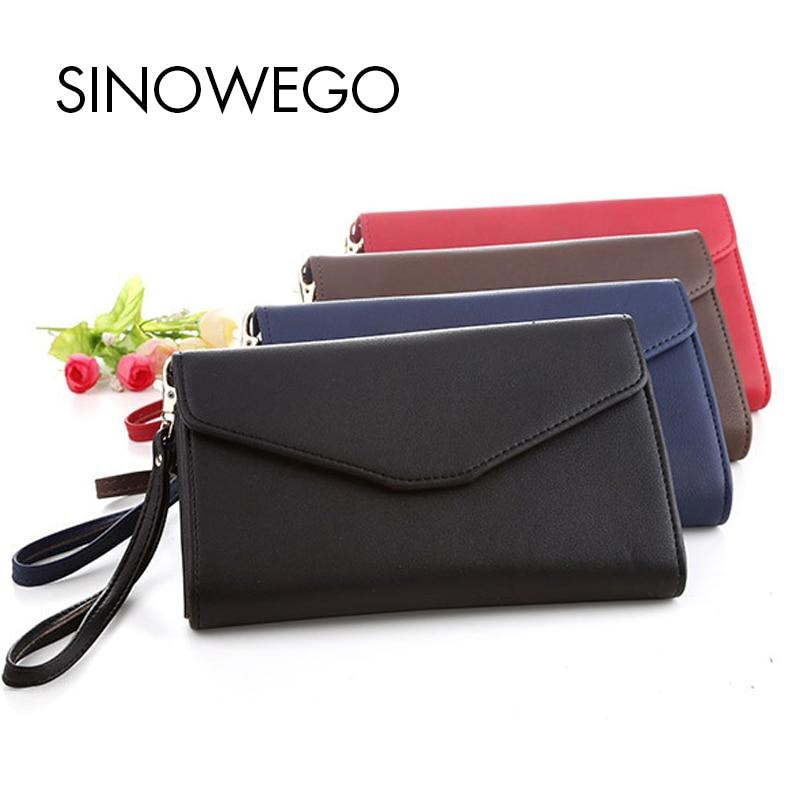 New Fashion Women Wallets Travel Leather Wallet Female Card Holder Coin Purse Woman's Wallet Women Purse Wristlet Small Wallet