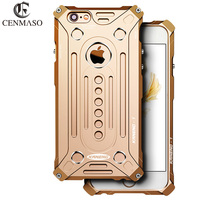 Nieuwe Aluminium Shockproof Metal Bumper Frame Case voor Apple Iphone 7 bescherming Cover Voor Iphone7 i7 bescherming mobiele telefoon Shell