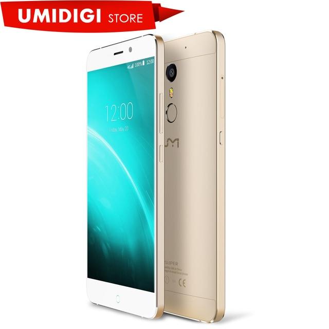 Grade B Umi Super 4G LTE MTK6755 P10 Octa Core Metal Mobile Phone 4G RAM 32G ROM 5.5inch  FHD 4000MaH Android 6.0 Smartphone
