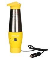 348ML ısıtma fincan paslanmaz çelik termo kupa yalıtımlı tutmak kahve kupalar süt su şişesi otomatik araba ısıtma s termos