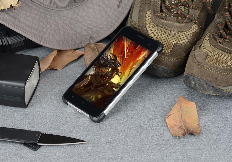 Wholesae jeasung D6 прочный смартфон 4 + 64 ГБ IP68 Водонепроницаемый противоударный fringerprint Reader Dual SIM 5 дюймов NFC Android 7.0