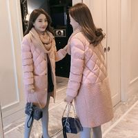 2018 Promotion Full Wide waisted Winter Coat Women Hot Sale Long Parka Fashion Students Female Clothing M xl Thick Jackets