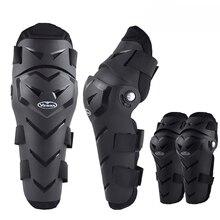 4 шт. мотоциклетные налокотники для мотокросса, Налокотники и наколенники, защитный набор доспехов, черные Moto MTB rodillera