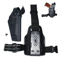 Tactical Airsoft Pistol Holster Beretta M9 92 96 Gun Holster Military Hunting Quick Drop Leg Holster Gun Carry Thigh Holster