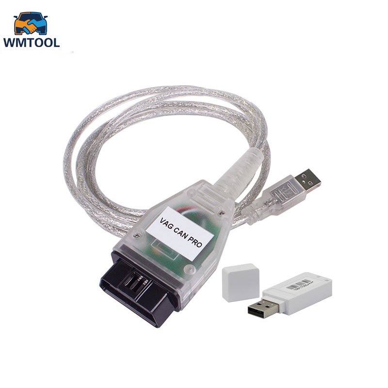 New VAG CAN VCP PRO V5.5.1 CAN BUS+UDS+K-line OBD OBD2 Diagnostic Cable Support for VW/Audi/Seat VAG PRO Better than VCDS