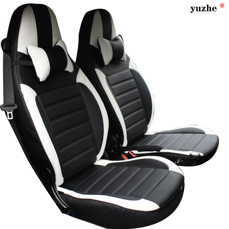 yuzhe leather car seat cover for mercedes benz smart fortwo smart forfour car accessories. Black Bedroom Furniture Sets. Home Design Ideas