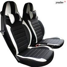 Cubierta de asiento de coche de Cuero Yuzhe Para Mercedes-benz smart fortwo forfour inteligente accesorios Del Coche Estilo Cojín